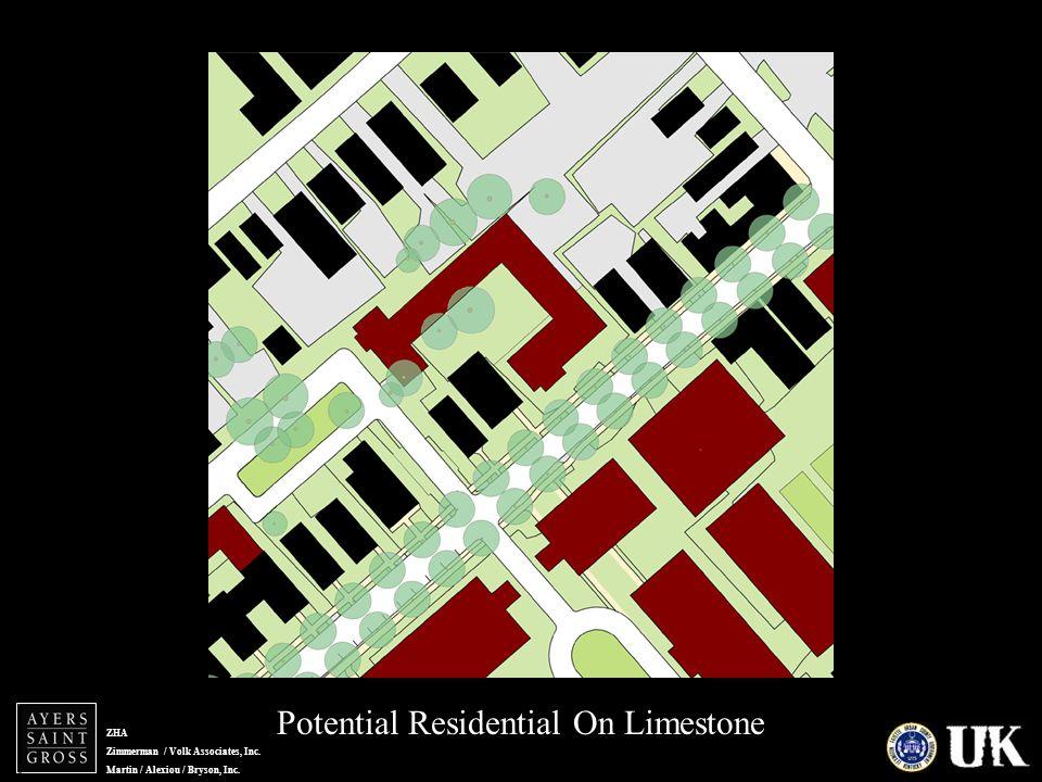 ZHA Zimmerman / Volk Associates, Inc. Martin / Alexiou / Bryson, Inc. Potential Residential On Limestone