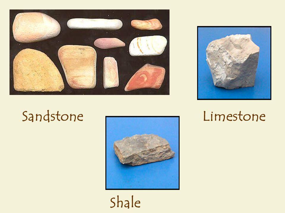 Limestone Shale Sandstone