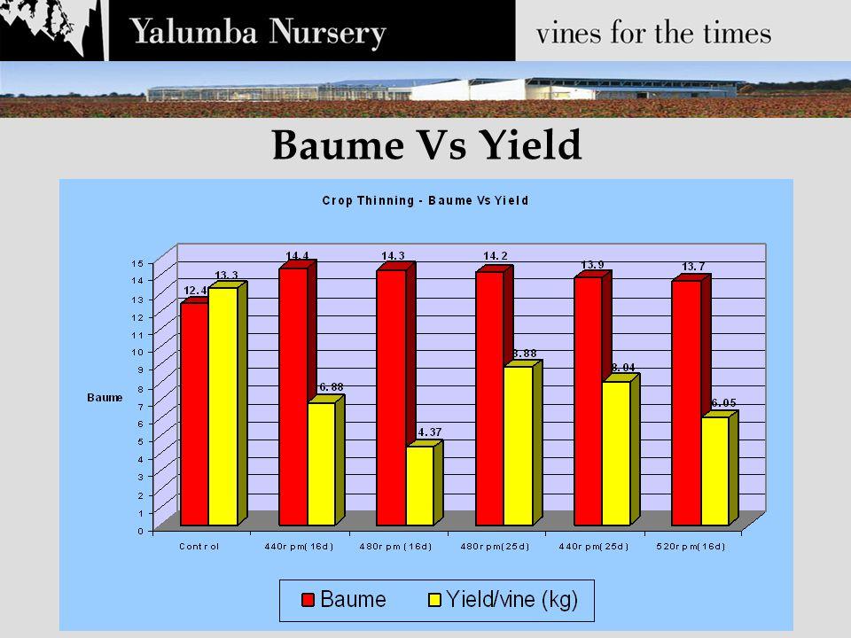 Baume Vs Yield