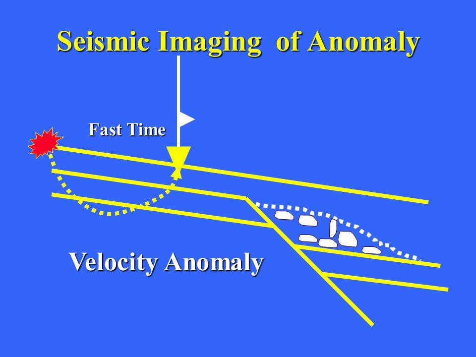 Seismic ImagingofAnomaly Seismic Imaging of Anomaly Fast Time Velocity Anomaly