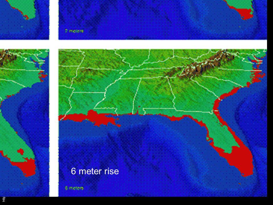 http://www.shiftingbaselines.org/blog/archives/000430.html 6 meter rise