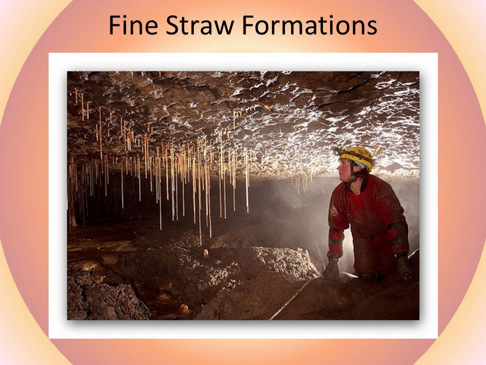 Fine Straw Formations