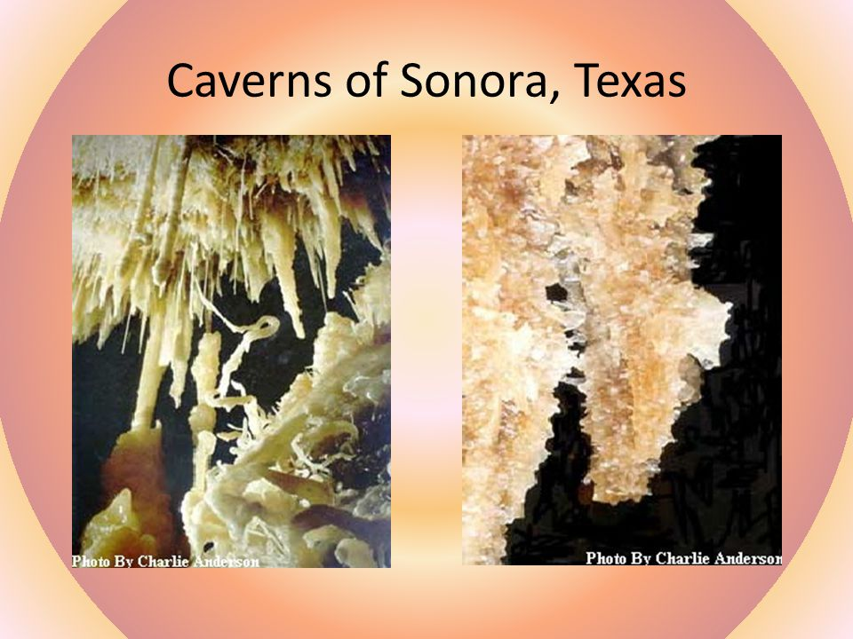 Caverns of Sonora, Texas