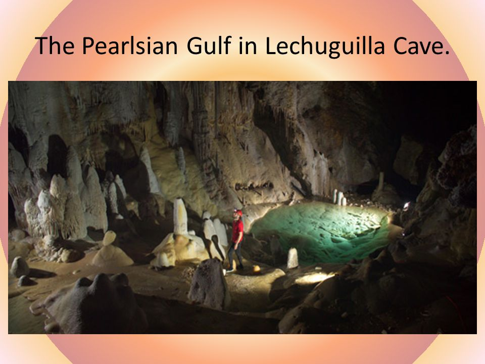 A Virgin Cave in Guadalupe Mountains, New Mexico (Carlsbad)