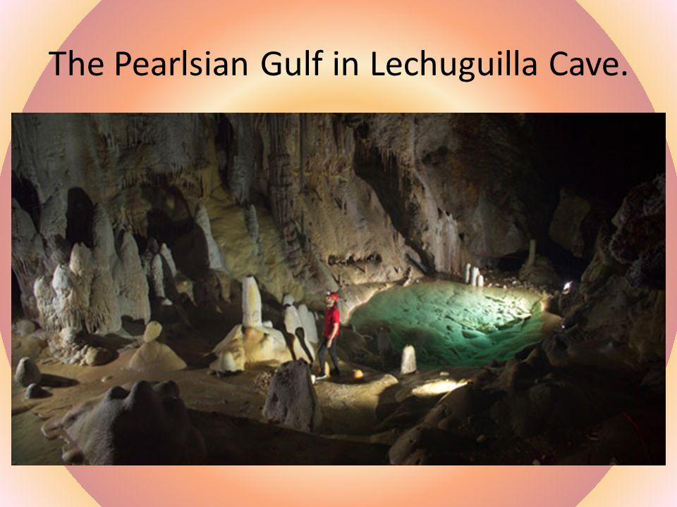 Painted Cave, a large sea cave, Santa Cruz Island, California