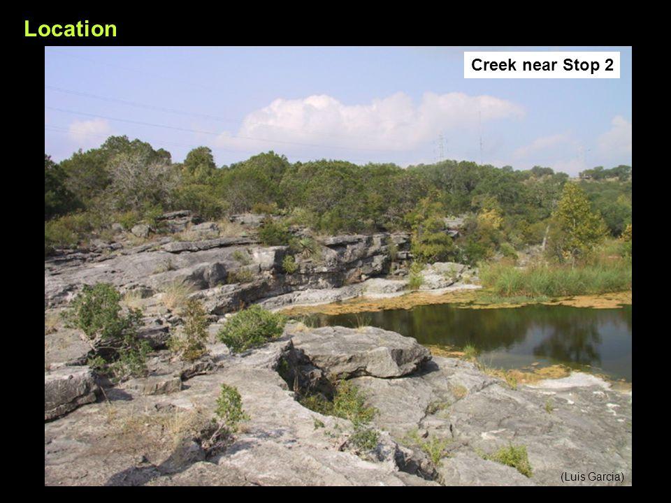 (Luis Garcia) Location Creek near Stop 2