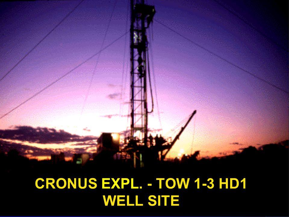 CRONUS EXPL. - TOW 1-3 HD1 WELL SITE