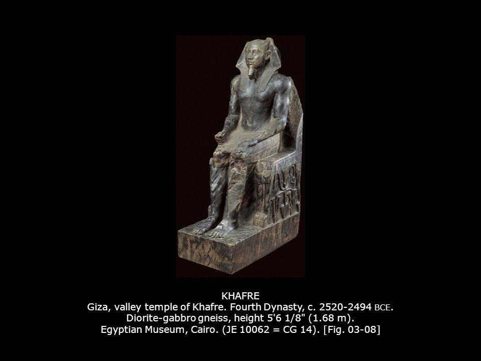 KHAFRE Giza, valley temple of Khafre.Fourth Dynasty, c.