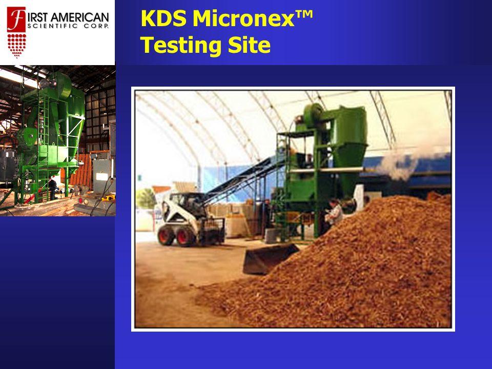 KDS Micronex™ Testing Site