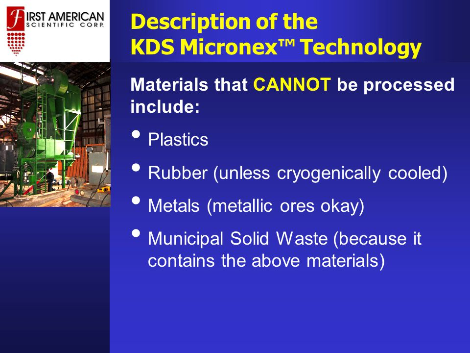 KDS Micronex™ is the only machine known to us that can produce sub-micron glass powder, in bulk quantities.