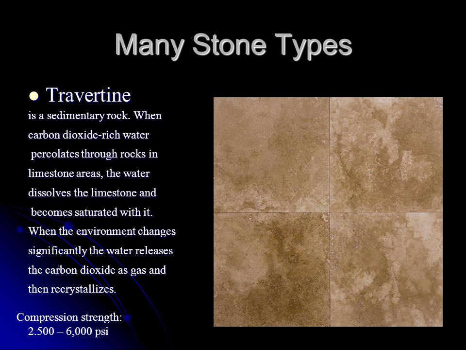 Marble Marble Many Stone Types Often Starts as Limestone.