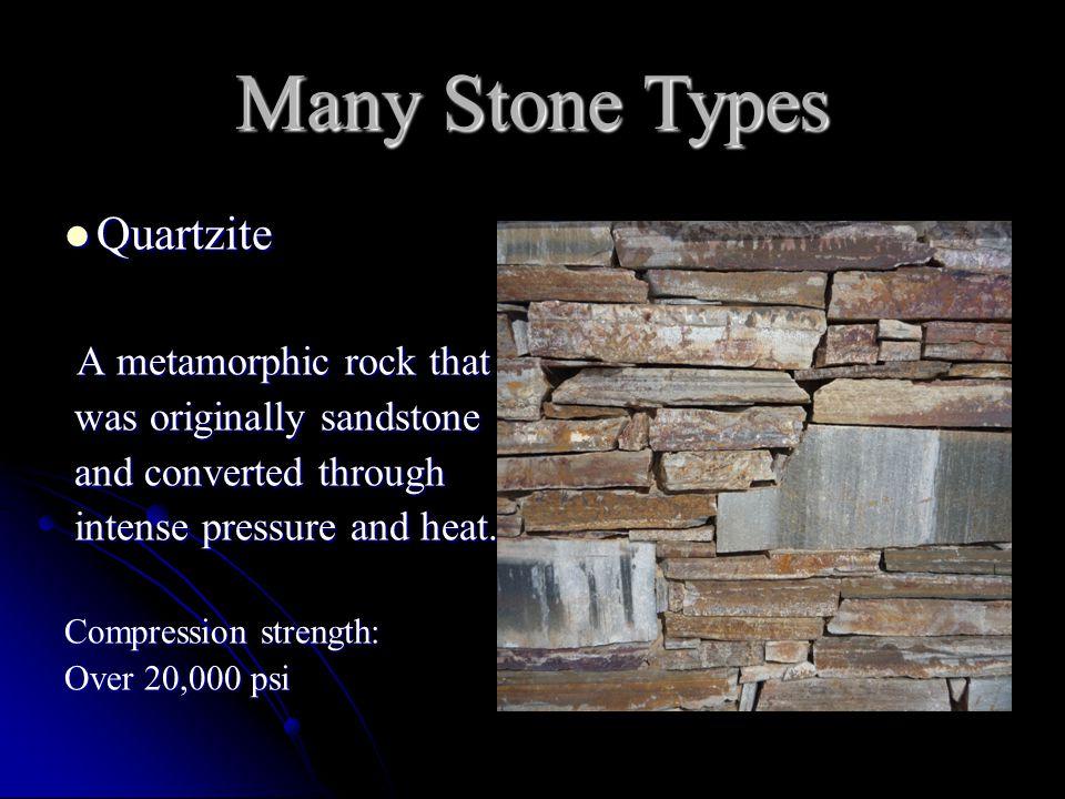 Quartzitic Sandstone Quartzitic Sandstone Hybrid term.