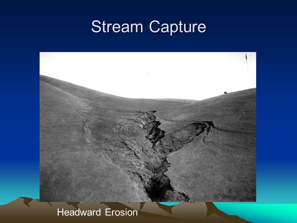 Stream Capture Headward Erosion