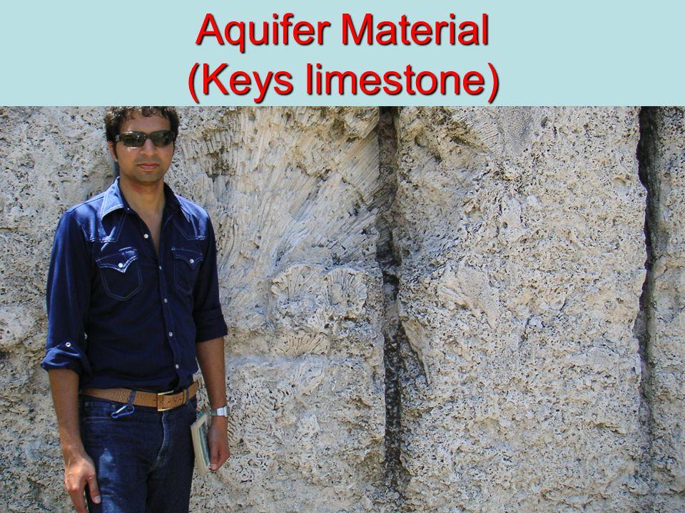 23 Aquifer Material (Keys limestone)