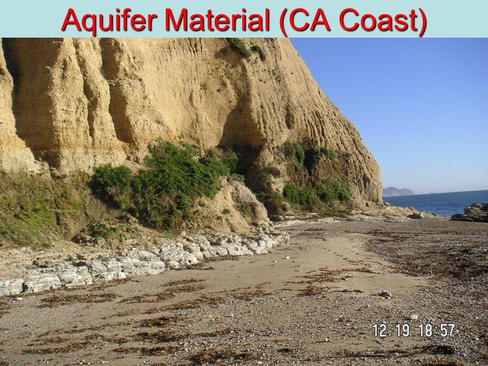 27 Aquifer Material (CA Coast)