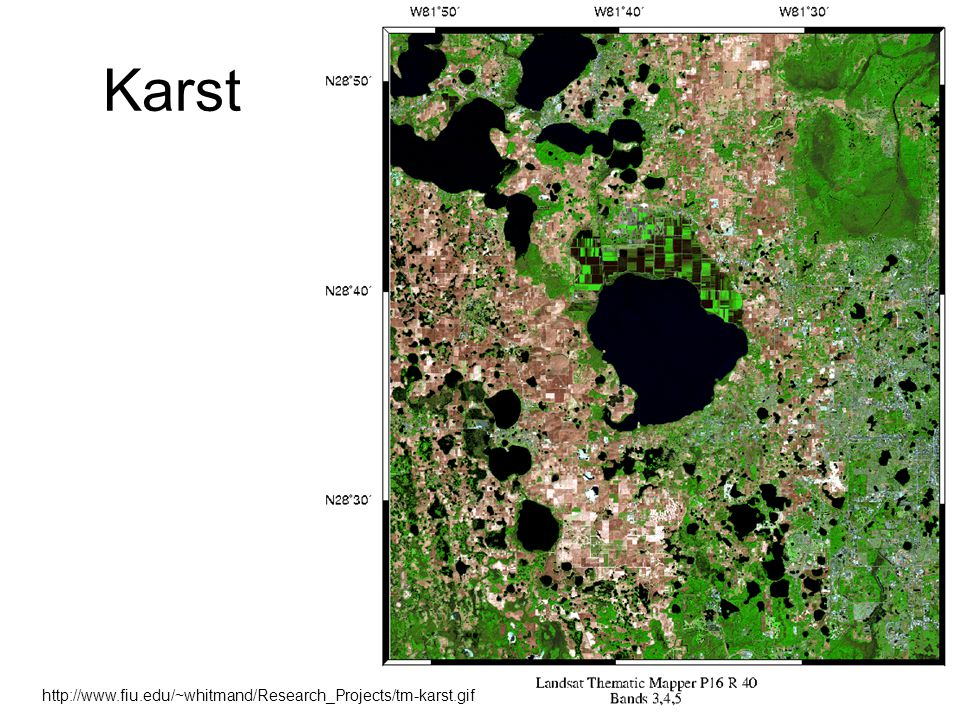 32 Karst http://www.fiu.edu/~whitmand/Research_Projects/tm-karst.gif