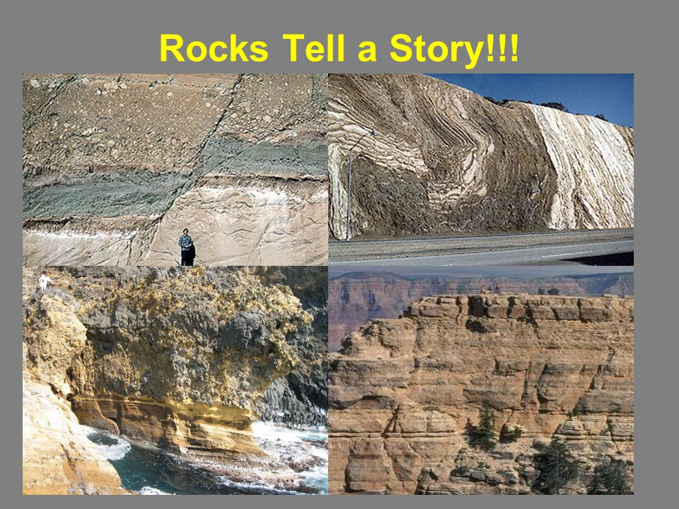 Rocks Tell a Story!!!