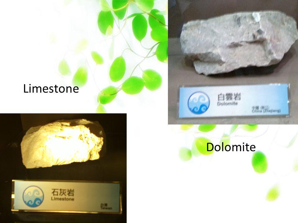 Limestone Dolomite