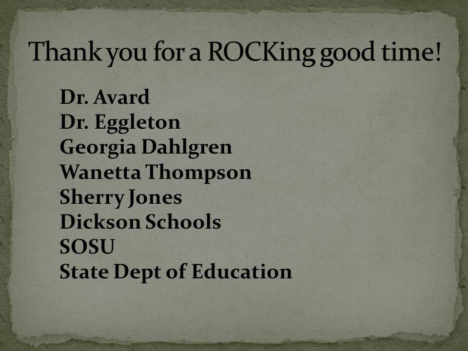 Dr. Avard Dr.