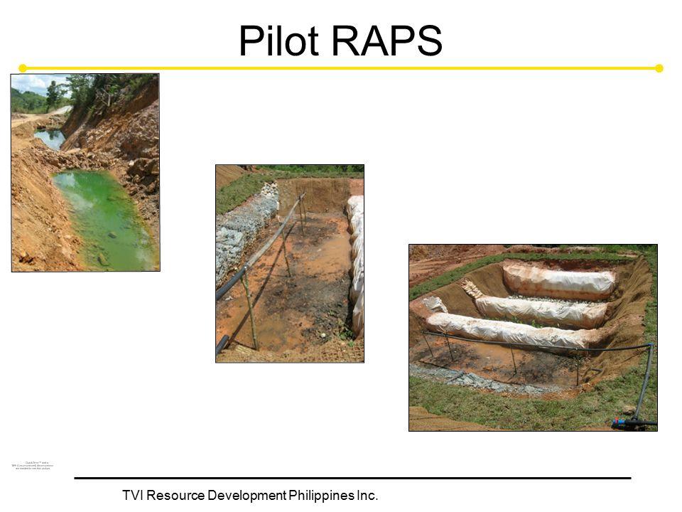 TVI Resource Development Philippines Inc. Pilot RAPS