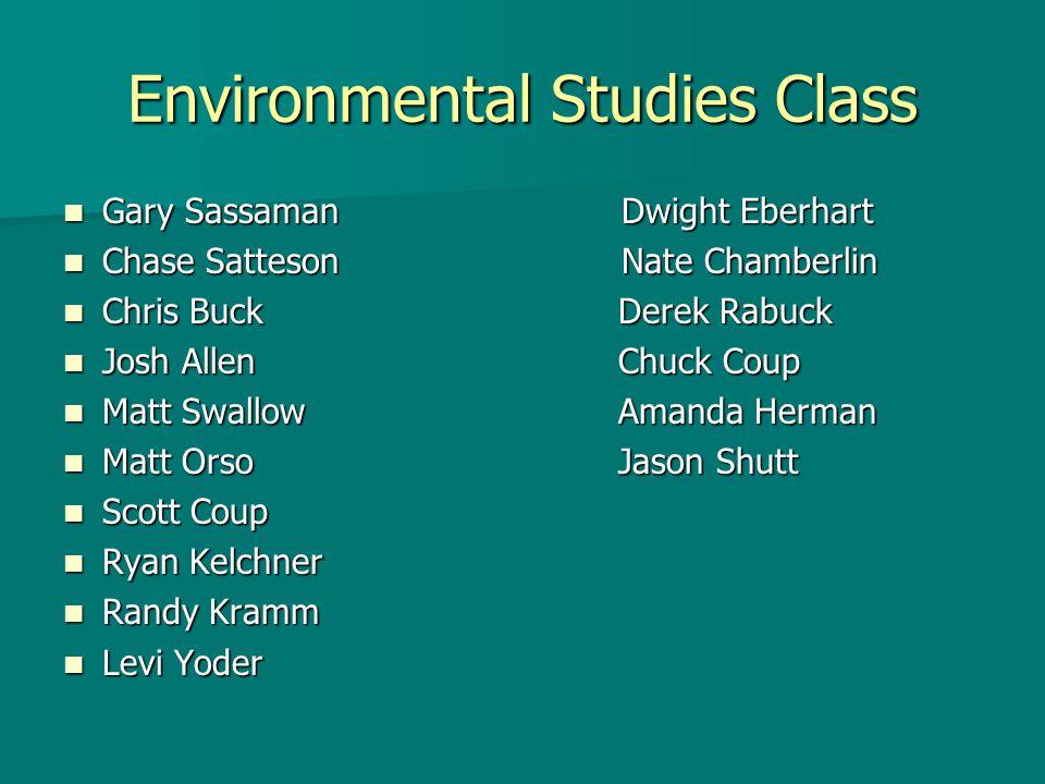 Stream Bank Assessment Chris Buck and Matt Orso