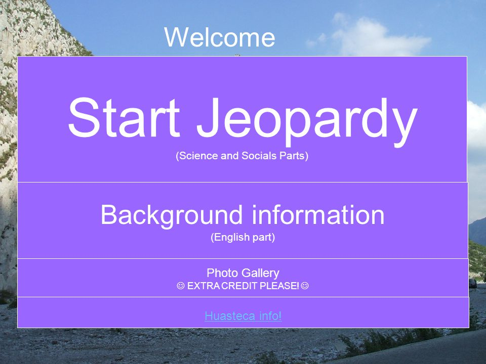 CLICK HERE TO ANSWER MAIN MENU SOCIALS MENU By: Mariana The canyon is in what part of Mexico.