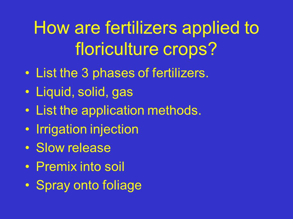 What are the components of a fertilizer. Incomplete vs.