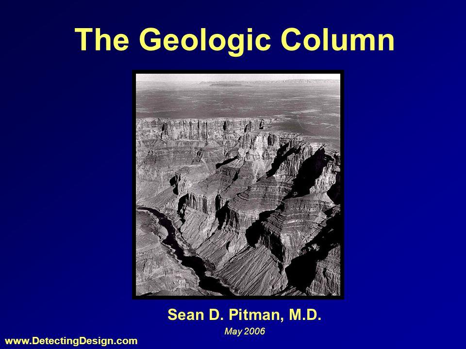 The Geologic Column Sean D. Pitman, M.D. May 2006 www.DetectingDesign.com