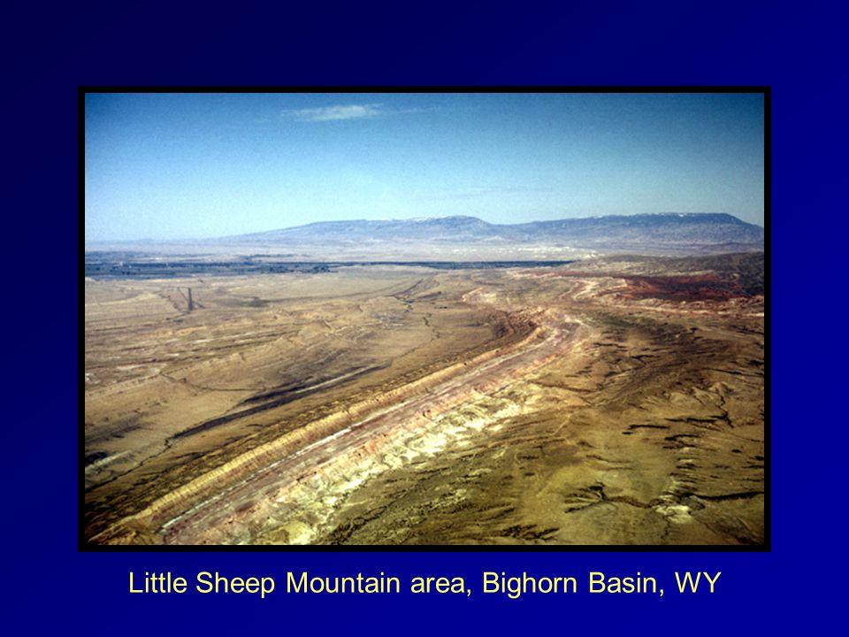 Little Sheep Mountain area, Bighorn Basin, WY