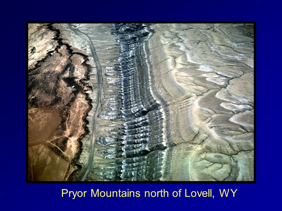 Pryor Mountains north of Lovell, WY