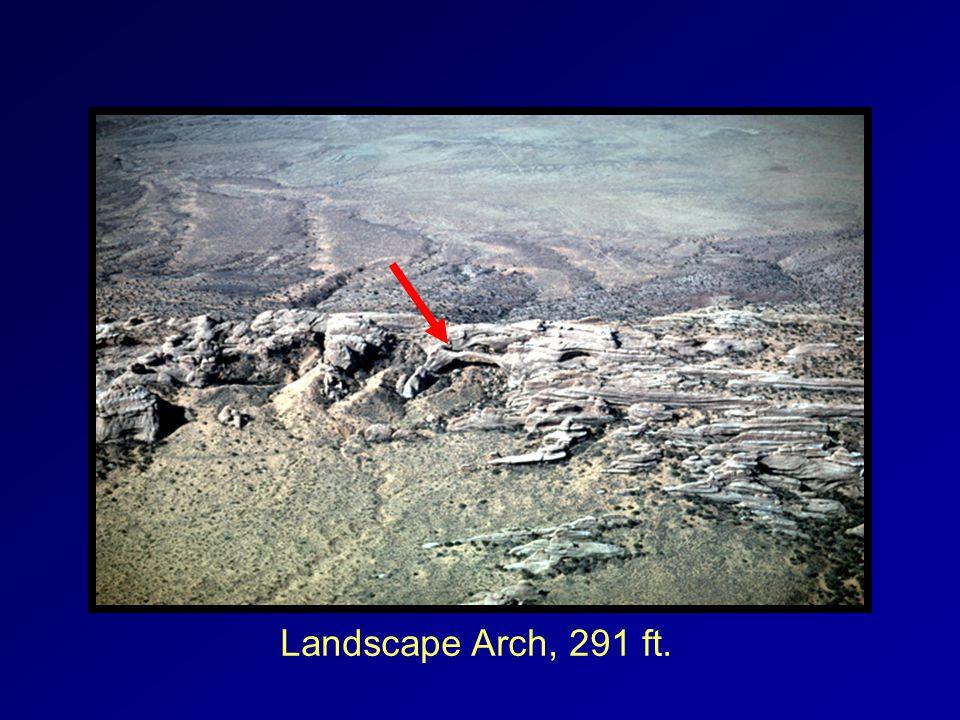 Landscape Arch, 291 ft.