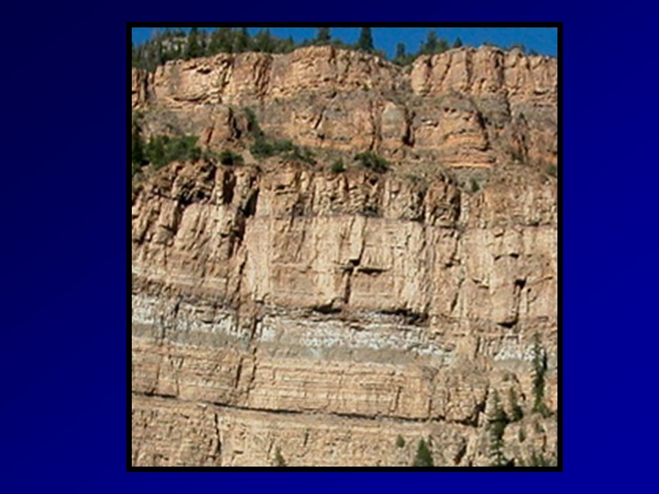 What is one of the strongest evidences that the Geologic Column is much older than YEC notions of less than 10,000 years .