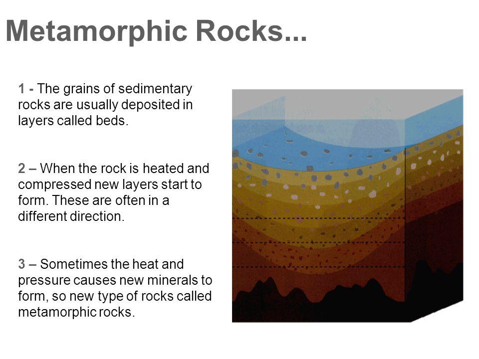 Metamorphic Rocks...