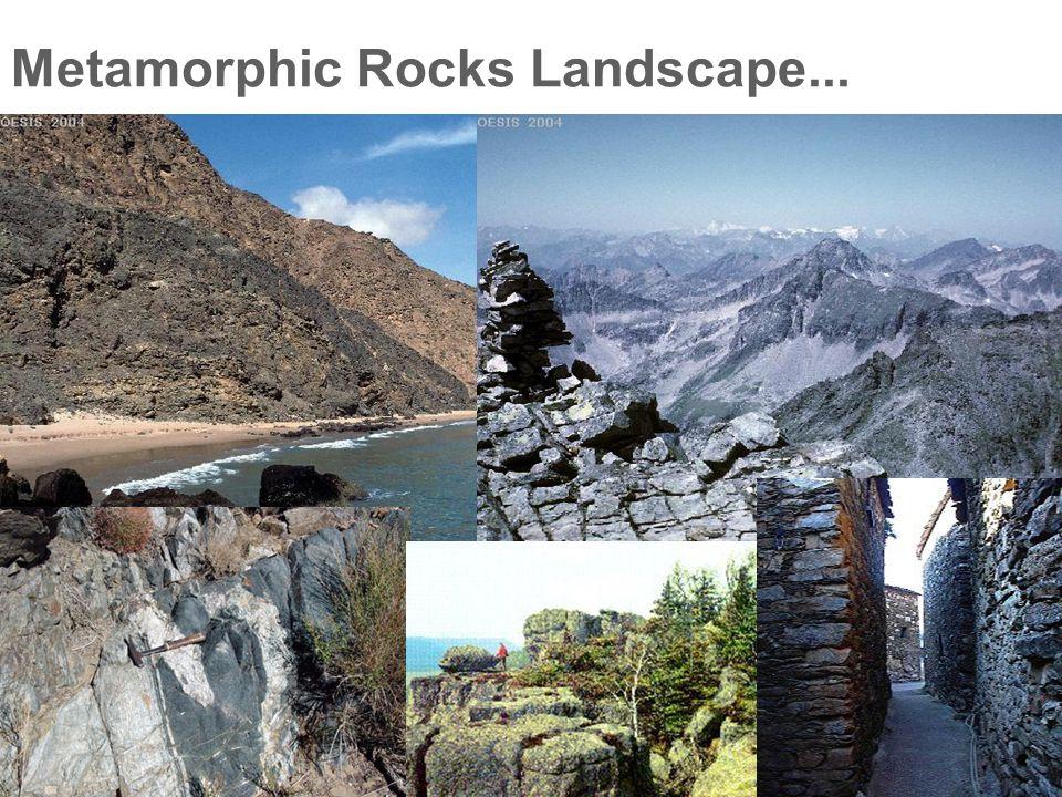 Metamorphic Rocks Landscape...