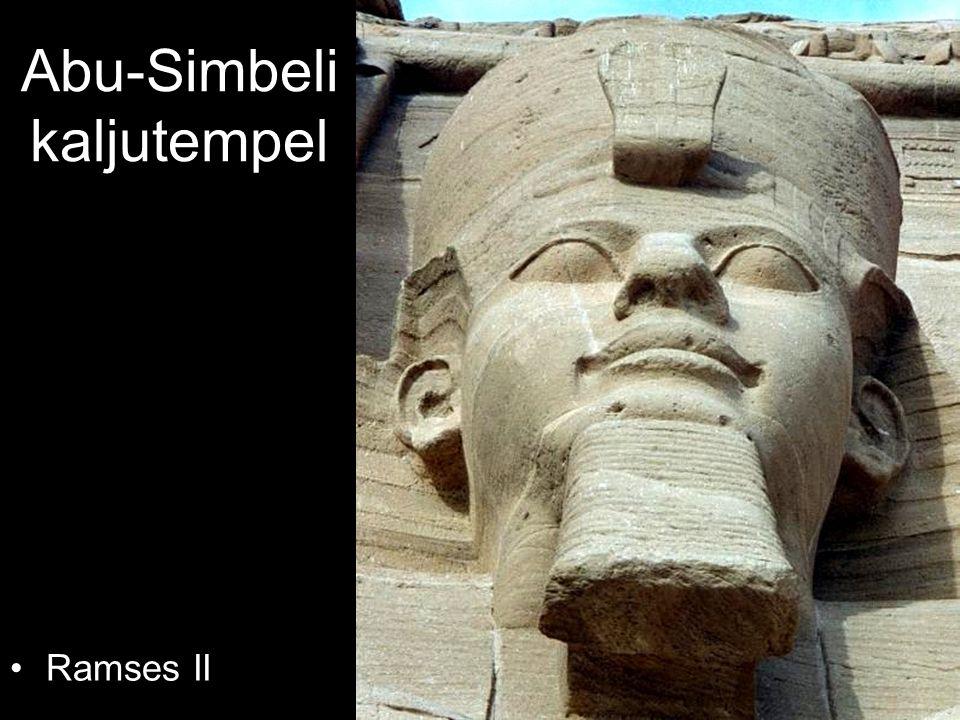 Abu-Simbeli kaljutempel Ramses II