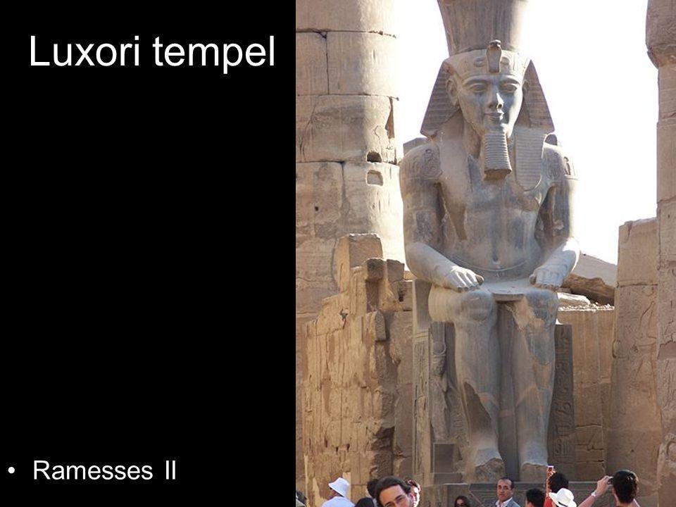 Luxori tempel Ramesses II