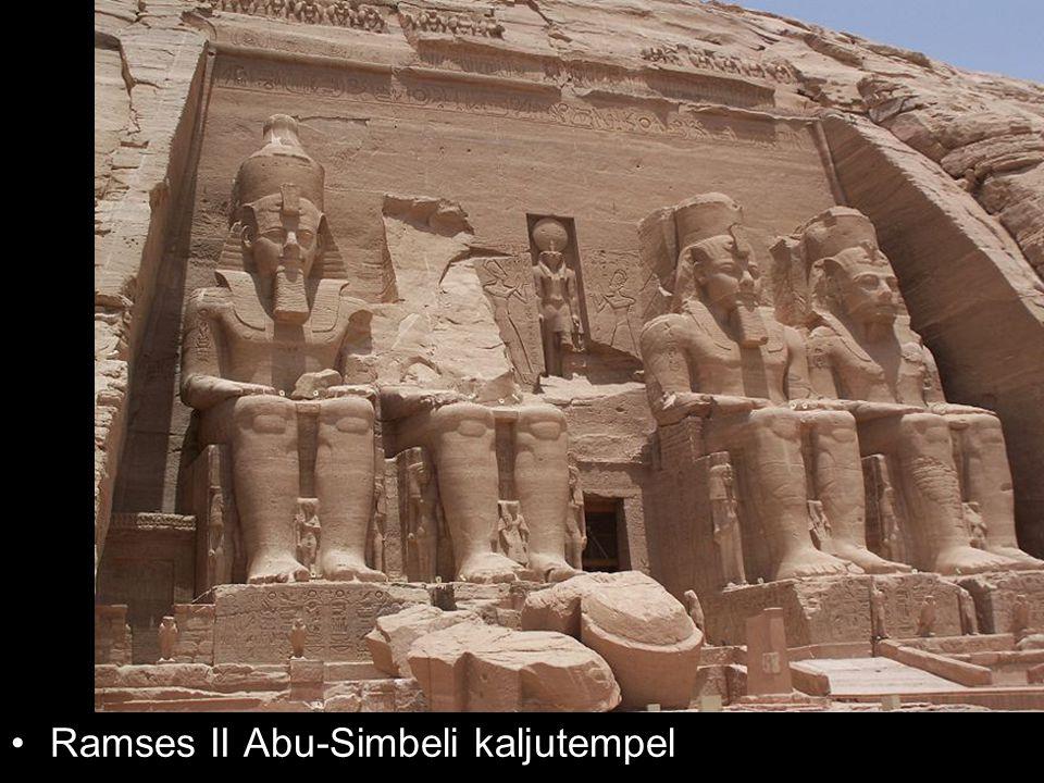 Ramses II Abu-Simbeli kaljutempel