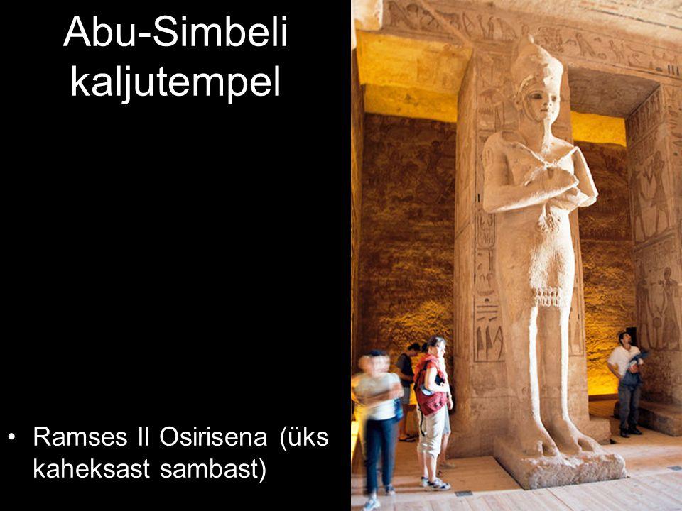 Ramses II Osirisena (üks kaheksast sambast)