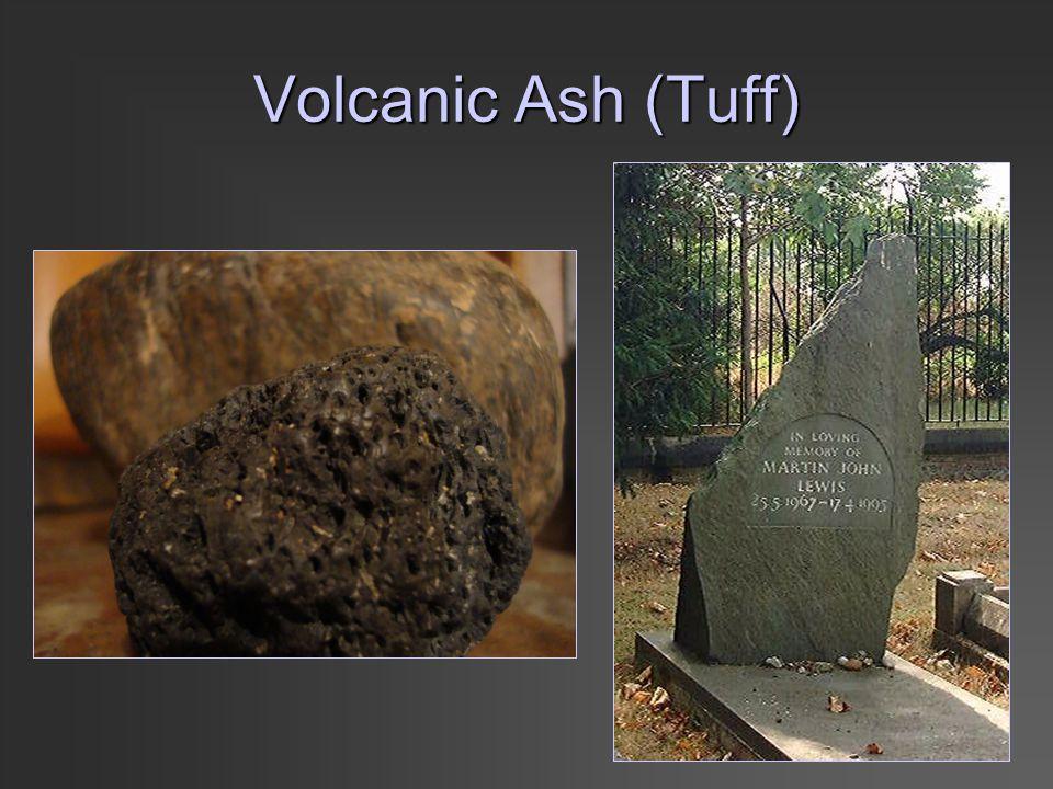 Volcanic Ash (Tuff)