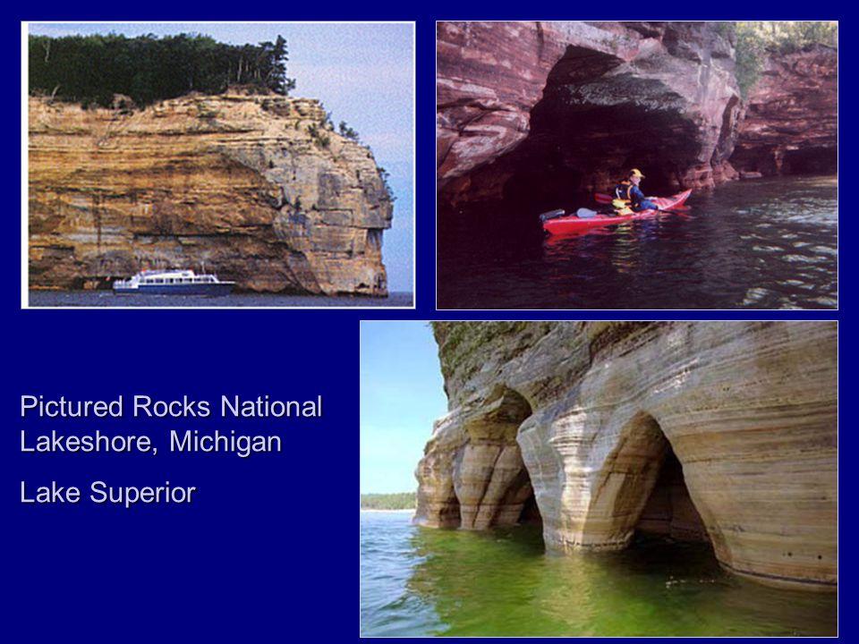Pictured Rocks National Lakeshore, Michigan Lake Superior