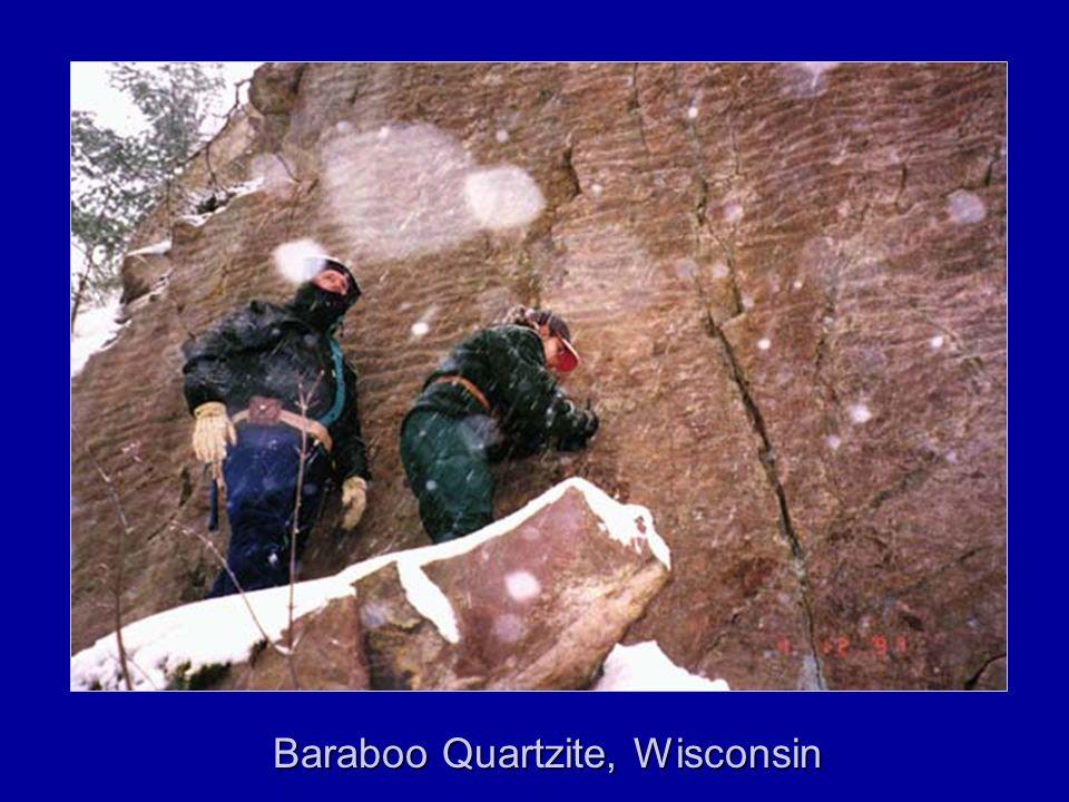 Baraboo Quartzite, Wisconsin