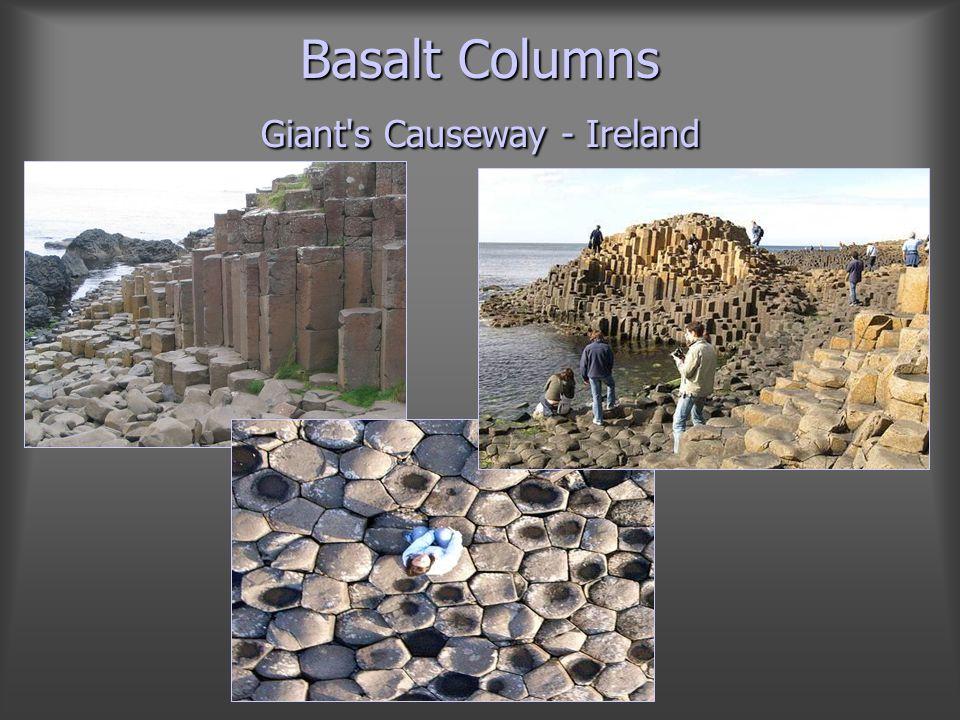 Basalt Columns Giant s Causeway - Ireland