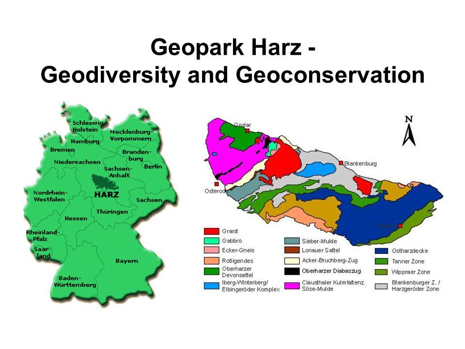 Geopark Harz - Geodiversity and Geoconservation