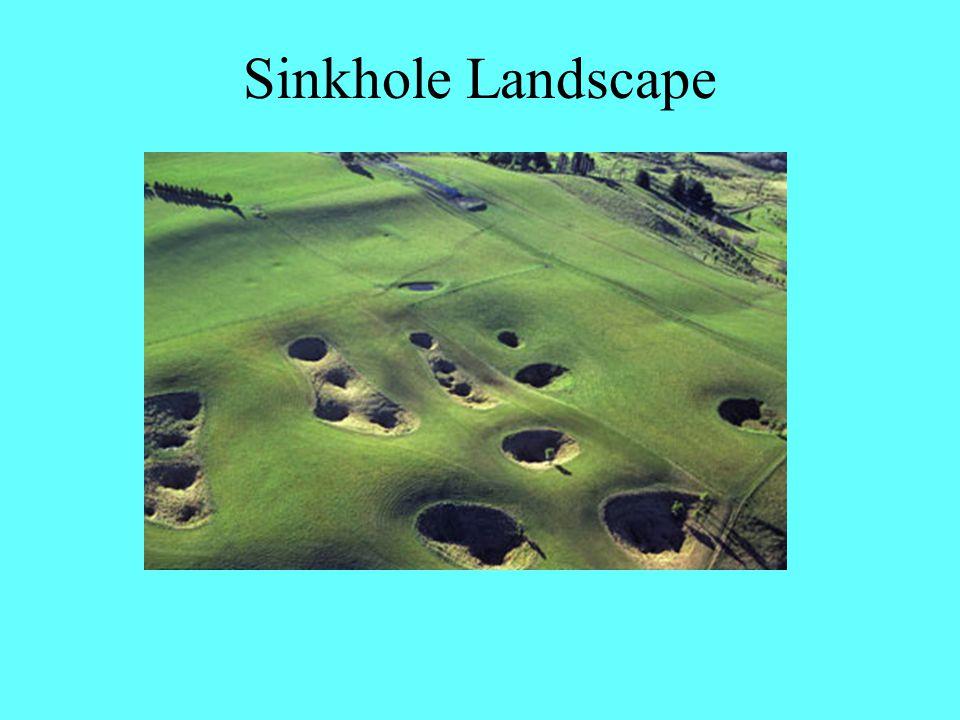 Sinkhole Landscape
