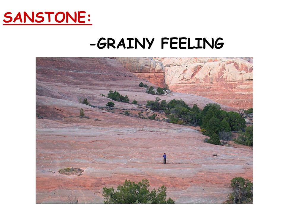 SANSTONE: -GRAINY FEELING