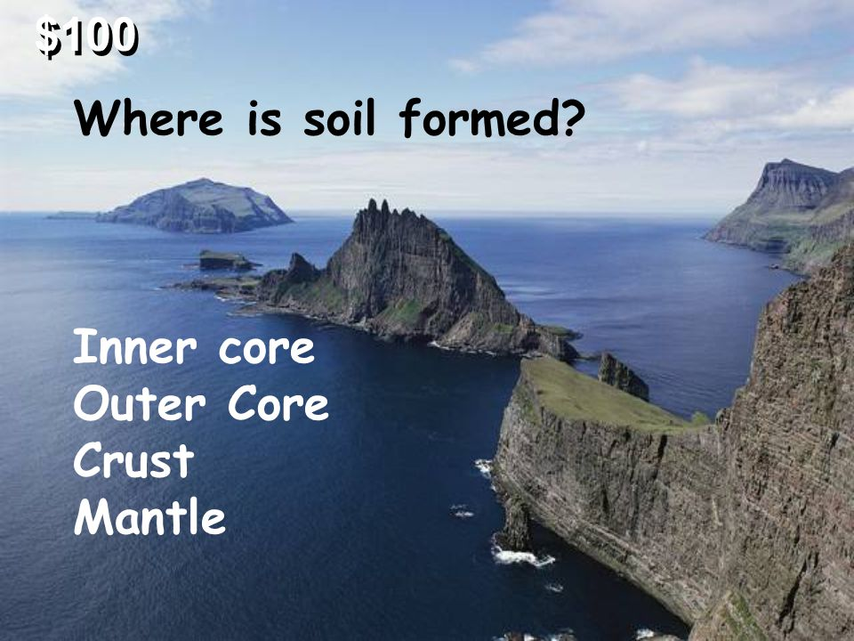 Over a period of time, layers of sediment are pressed together to form sedimentary rocks. When molten rock or magma cools below the Earth's surface or
