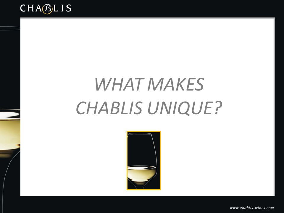 WHAT MAKES CHABLIS UNIQUE