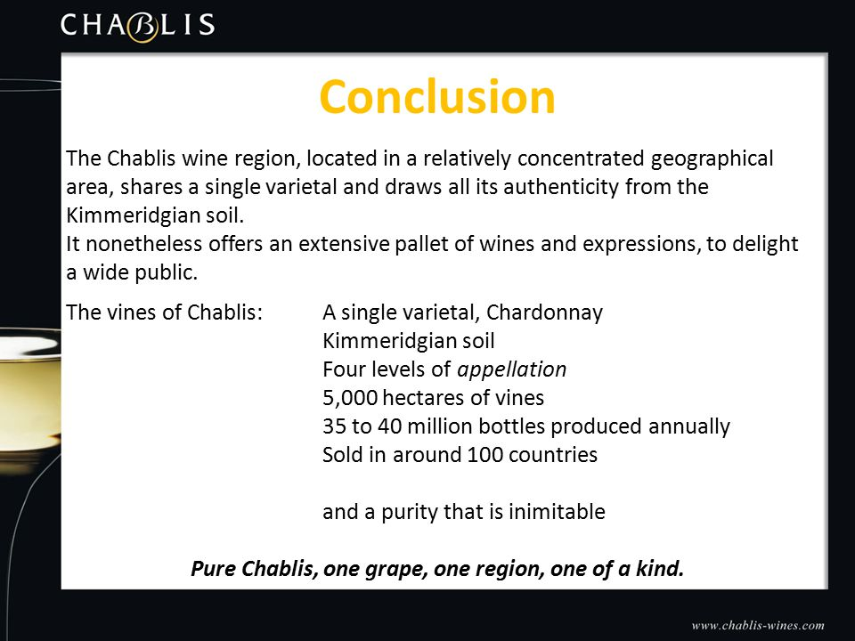 The Chablis wine region, located in a relatively concentrated geographical area, shares a single varietal and draws all its authenticity from the Kimmeridgian soil.