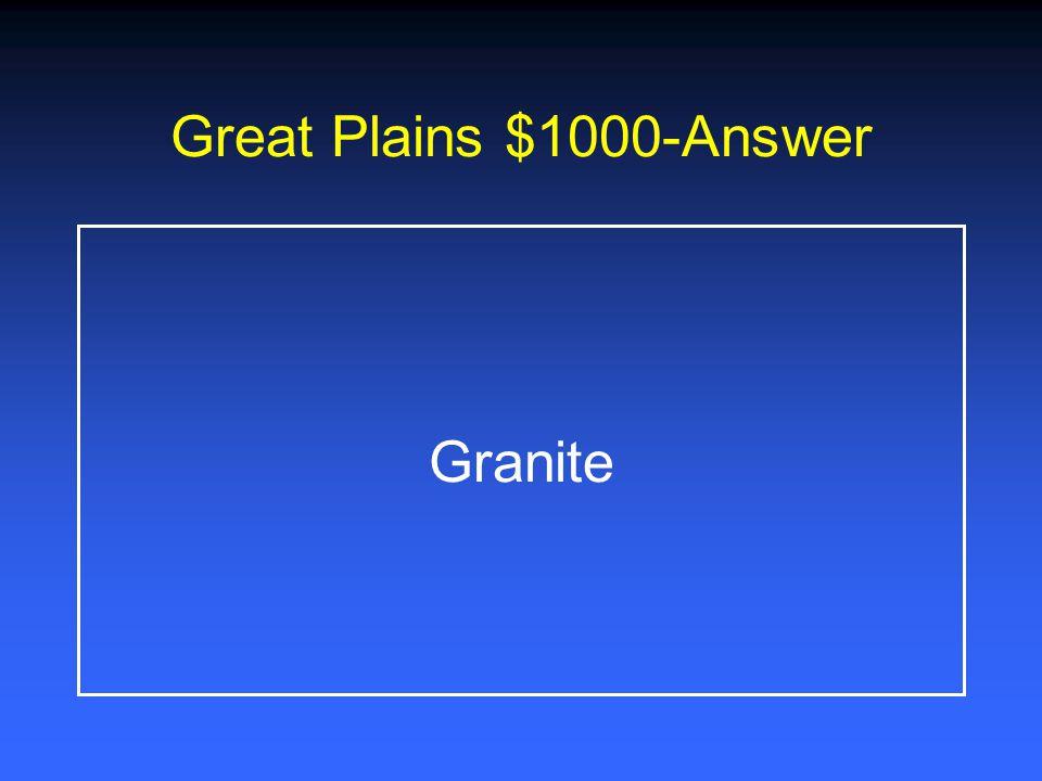 Great Plains $800-Answer Edwards Aquifer