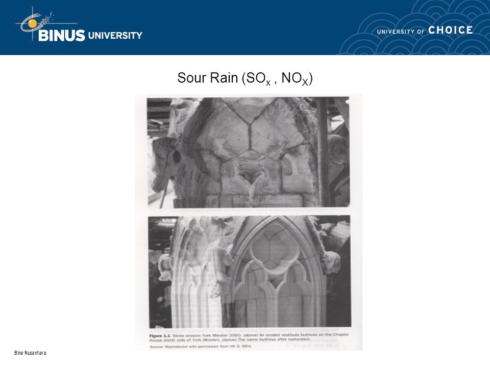 Bina Nusantara Materials of York Minster is especially two rock type: crystalline a, dolomite granular, MgCO 3.CaCO 3, porous more a and, calcite of largely made limestone oolithic granular, CaCO 3.